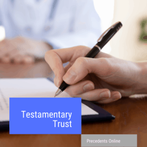 testamentary trust